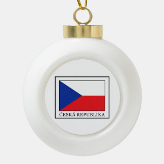 Ceska Republika Keramik Kugel-Ornament