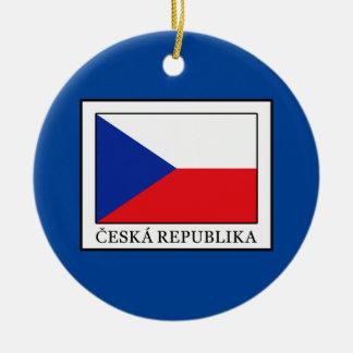 Ceska Republika Rundes Keramik Ornament