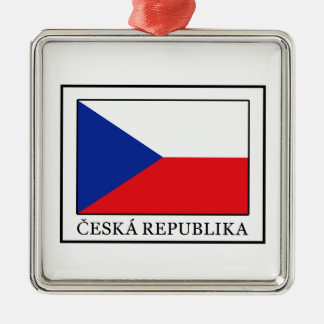 Ceska Republika Silbernes Ornament