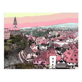 Cesky Krumlov Postkarte