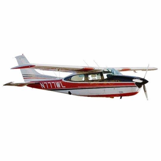 "Cessna 210 2"""" Magnet x3 Fotoskulptur Magnet"
