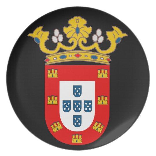Ceuta* Wappen Platte Teller