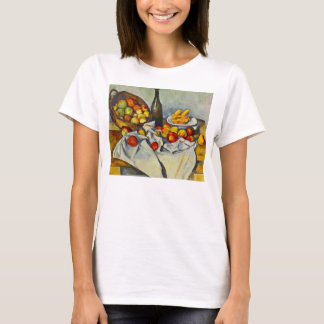 Cezanne der Korb des Apfel-T - Shirt