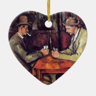 Cezanne - die Kartenspieler Weinachtsornamente