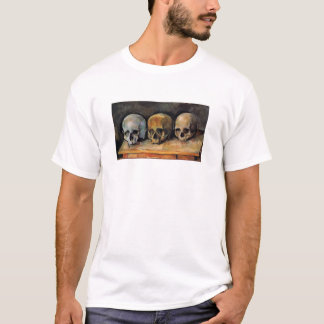 Cézanne Schädel-Dreiergruppe T-Shirt