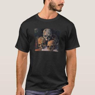 Cezanne Schädel-Pyramide T-Shirt