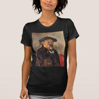 Cezanne - Selbstporträt mit Barett T-Shirt