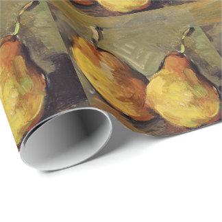 Cezanne - zwei Birnen Geschenkpapier