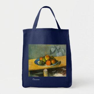 Cezannes Frucht - Grün Tragetasche