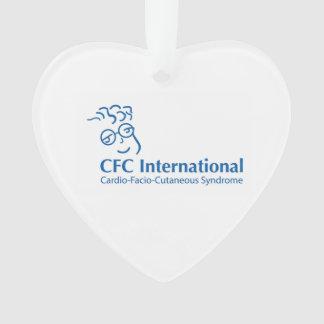 CFC-Herz-Verzierung Ornament