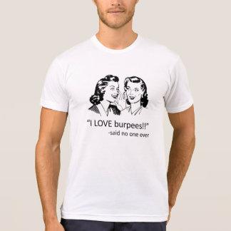 CFNTX Liebe Burpees - Weiß T-Shirt