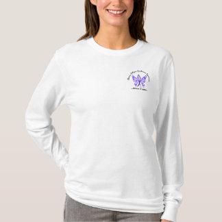 CFS- chronischer Ermüdungs-Syndrom-Schmetterling T-Shirt