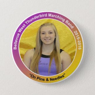 CG-Jr.-Erin Runder Button 7,6 Cm