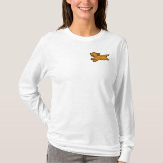 CG, laufendes Cockerspaniel-Shirt T-Shirt