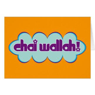Chai Wallah Karte