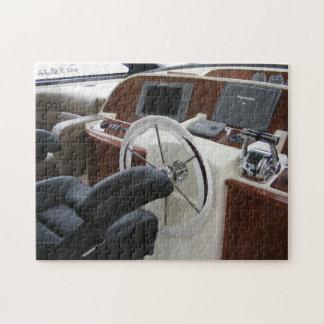 Chair Jigsaw Luxusyacht-Kapitäns Puzzle