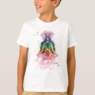 Chakra Balancen-Aquarell T-Shirt
