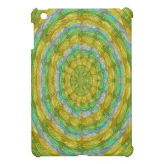 CHAKRA bördelt grüner Rad-Kristall iPad Mini Hülle