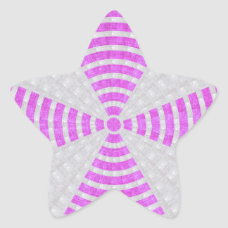 Chakra künstlerischer Oberflächenschatten des Stern-Aufkleber