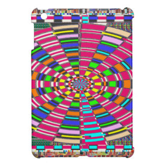 Chakra Mandala-Kreis runde kreisförmige bunte iPad Mini Hülle