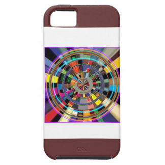 CHAKRA Mandala-Rad grafische bunte GESCHENKE Etui Fürs iPhone 5
