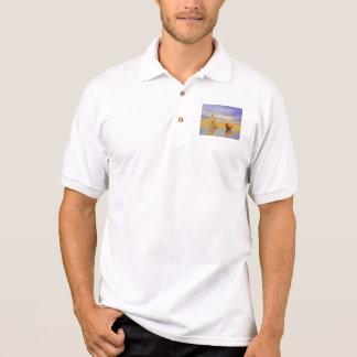 chakra Orange Polo Shirt