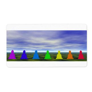 chakras und Farben und Himmel