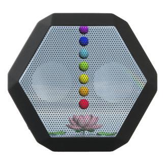 Chakras und Regenbogen - 3D übertragen Schwarze Bluetooth Lautsprecher