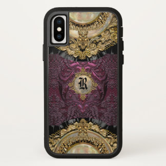 Chalchadoriz Eleganz-Girly cooles Monogramm plus iPhone X Hülle
