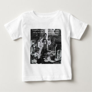 Chales Goodyear Sau u. ernten Klugheits-Zitat Baby T-shirt
