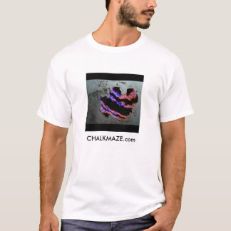 CHALKMAZE Album-Abdeckung, CHALKMAZE.com T-Shirt