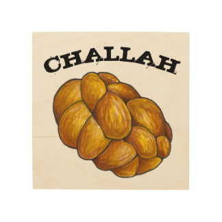 Challah-Brot-jüdische Holzdruck