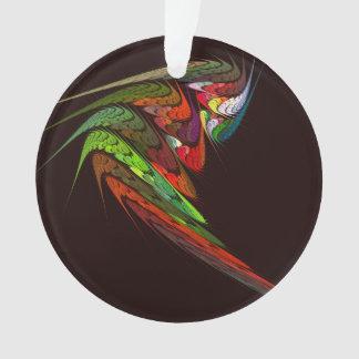 Chamäleon-abstrakter Kunst-Acryl-Kreis Ornament