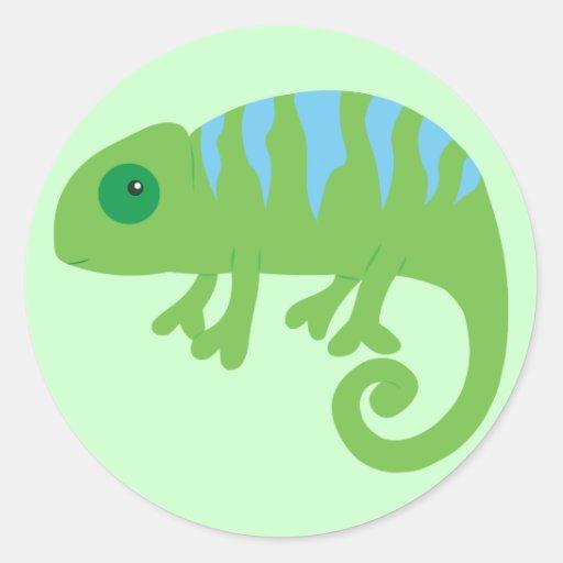 Chamäleon Stickers
