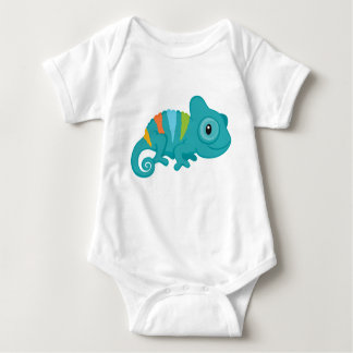 Chamäleon-Baby-Jersey-Bodysuit Baby Strampler