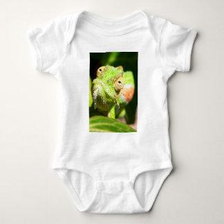 Chamäleon Baby Strampler