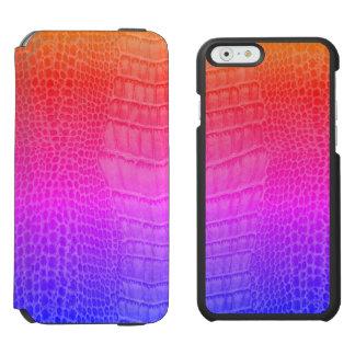 Chamäleon-Eidechsen-Chamäleon-Reptil Kawaii Gecko Incipio Watson™ iPhone 6 Geldbörsen Hülle