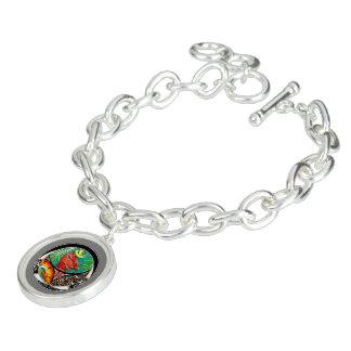 Chamäleon-Kunst-Zeichnen Charm Armband