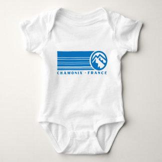 Chamonix Frankreich Baby Strampler