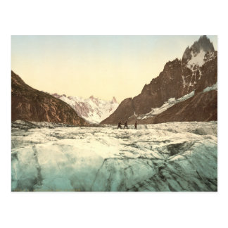 Chamonix-Tal - Mer de Glace Postkarte