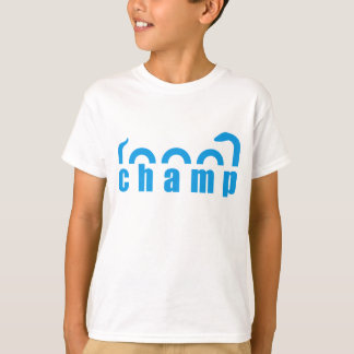 Champ See-Monster-Entwurf T-Shirt