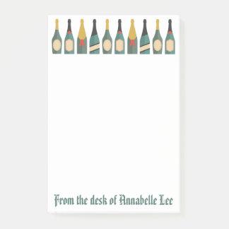 Champagne Post-it Klebezettel