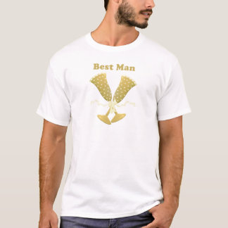 Champagne-Toast-Trauzeuge-T - Shirt