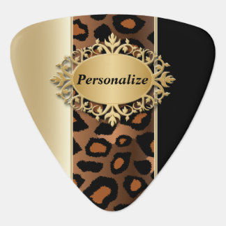 Champagne und schwarzes Jaguar | personifizieren Plektrum