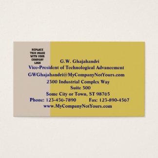 Champagne und weißer Wein-Visitenkarte Visitenkarte