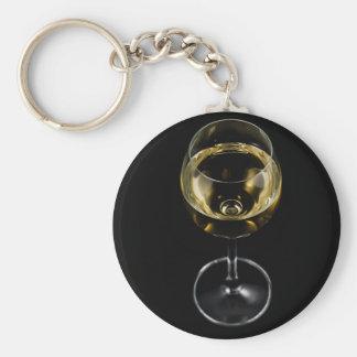 Champagnerglas Schlüsselanhänger