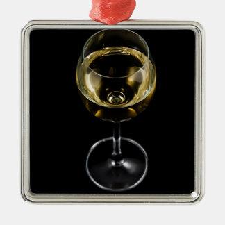 Champagnerglas Silbernes Ornament