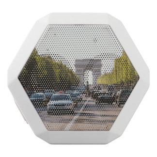 Champions Elysees und der Arc de Triomphe Weiße Bluetooth Lautsprecher