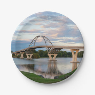 Champlain Brücke Pappteller
