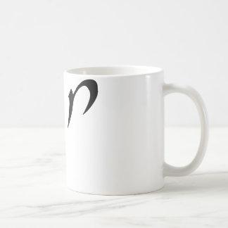 Chana (anglisiert als Anne oder Hannah) Kaffeetasse